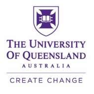 University of Queensland 昆士兰大学✅